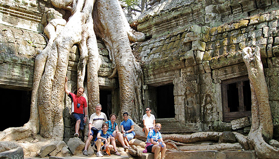 Vietnam & Cambodia Family Breakaway Bike Tour